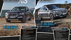 BMW X1 / BMW X3 Sonder-Edition-Aktion