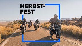BMW Motorrad Herbstfest-Angebot