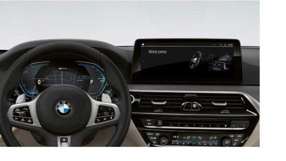 BMW Live Cockpit Professional