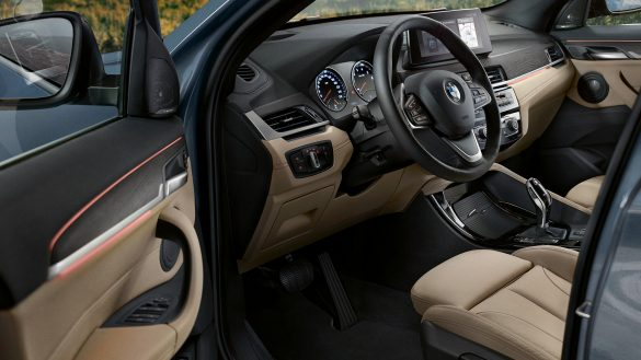 BMW X1 fahrorientiertes Cockpit