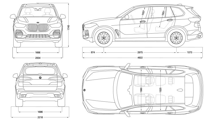Technische Daten BMW X5