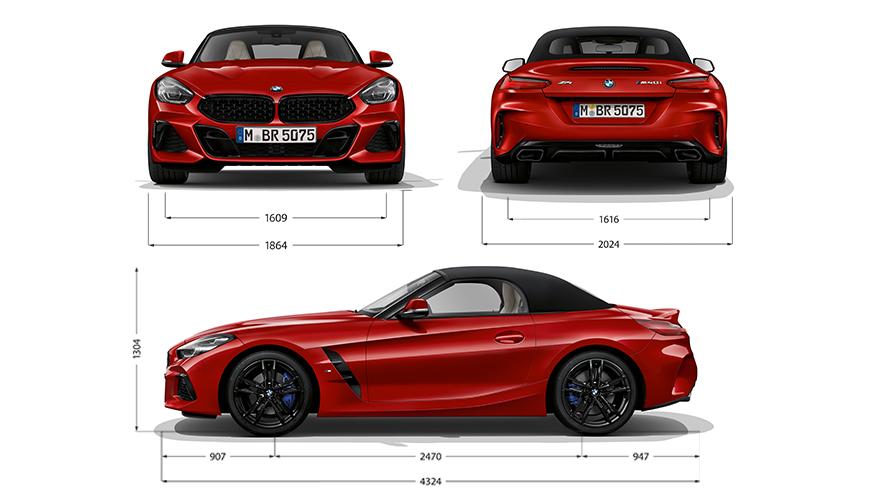 Technische Daten BMW Z4 M40i