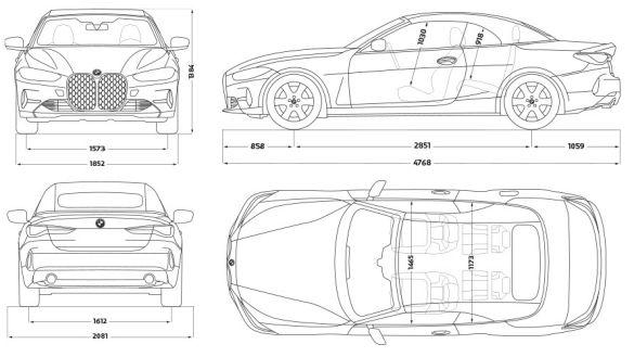 Technische Daten BMW 4er Cabrio