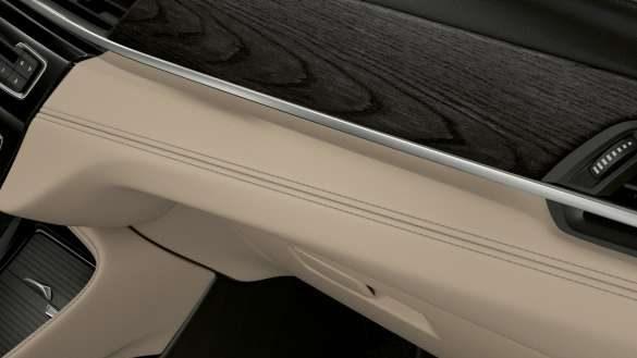 BMW X1 Instrumententafel mit Kontrastnaht