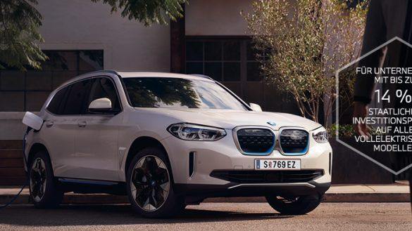 BMW iX3 mit Investitionsprämie
